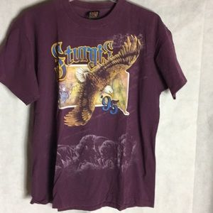 Vintage Sturgis rally graphic T-shirt size XL
